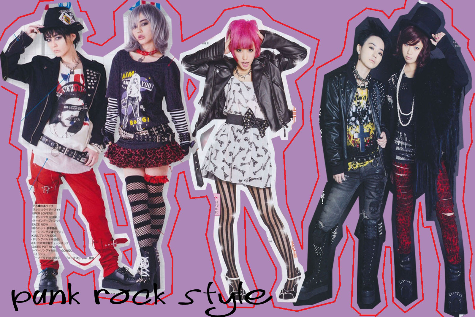 1980 punk rock fashion