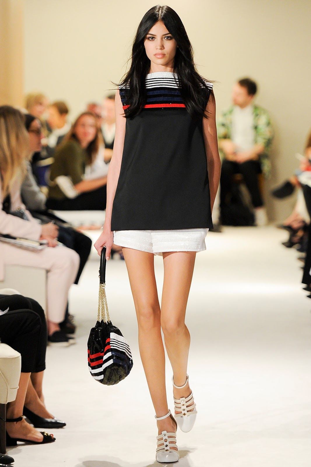 Julie de Libran for Sonia Rykiel Spring/Summer 2015 | Paris fashion week | September 2014