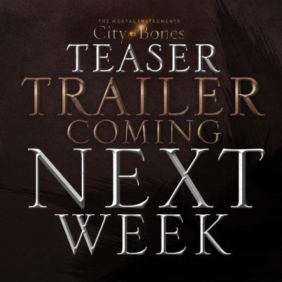 The Mortal Instruments: City of Bones Cast Announced the First Teaser
