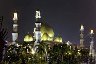 Desain Masjid Kubah Emas