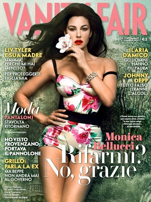 Monica Bellucci: Covers Vanity Fair Italy May 2012