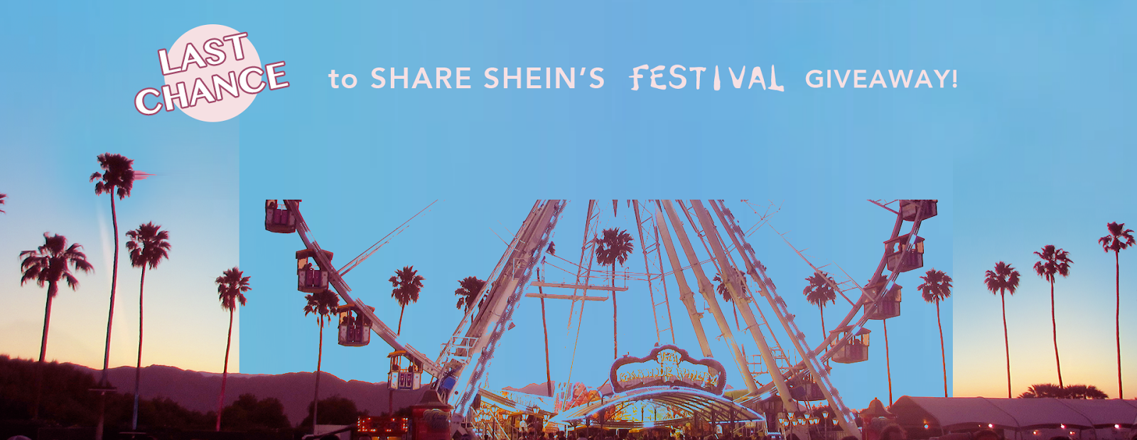 SheIn Festival Giveaway