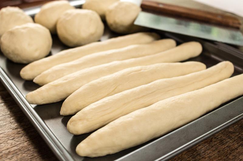 Pretzel dough logs | Svelte Salivations