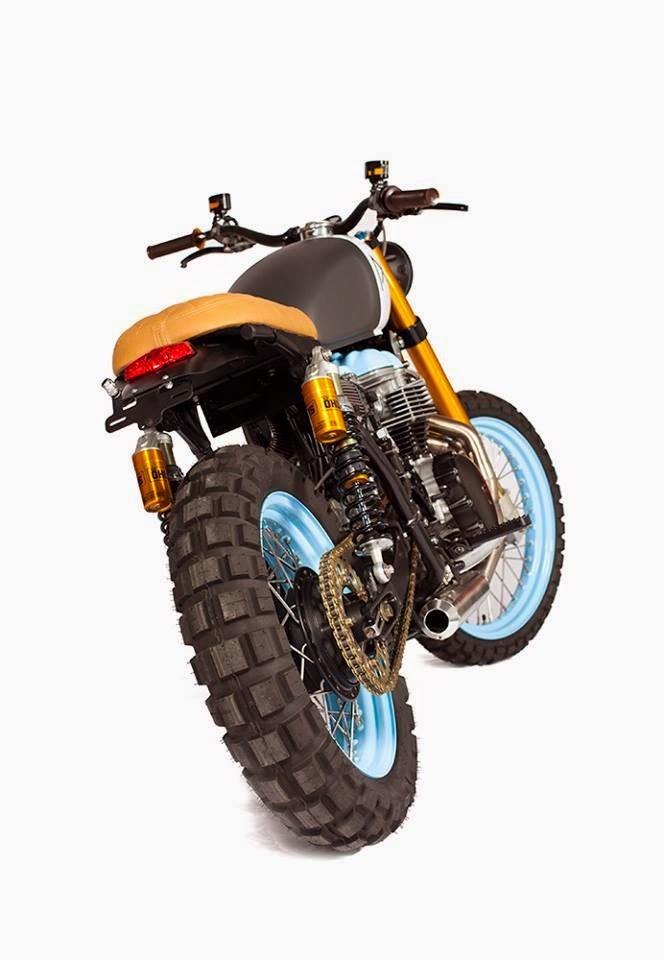 Racing Caf U00e8  Triumph Bonneville  U0026quot El Carmen U0026quot  By Maria Motorcycles