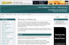 Todos los tipos de extensiones de archivos online: Wotsit.org