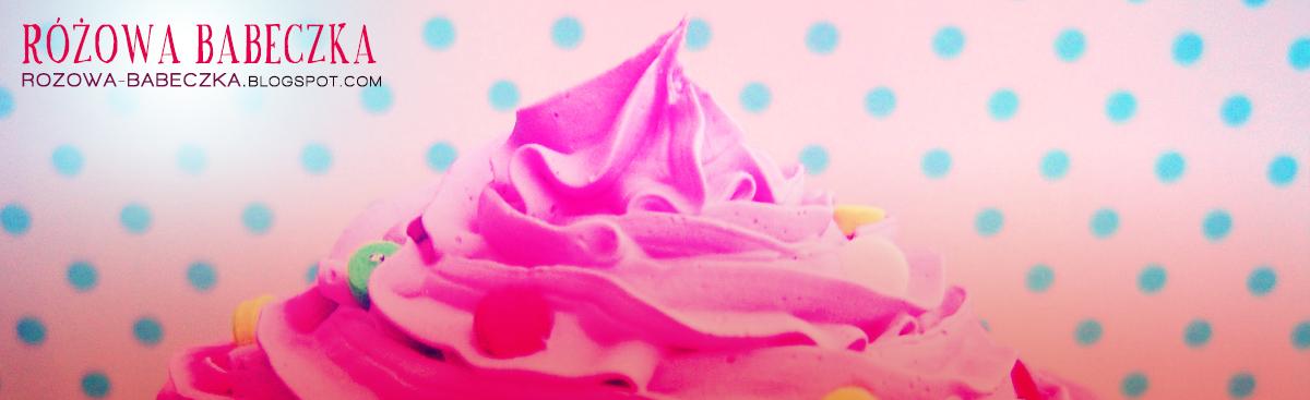 Projekt RÓŻOWA BABECZKA. Kasia i Marta. Gotujemy, pieczemy, tworzymy! /  Pink Cupcake