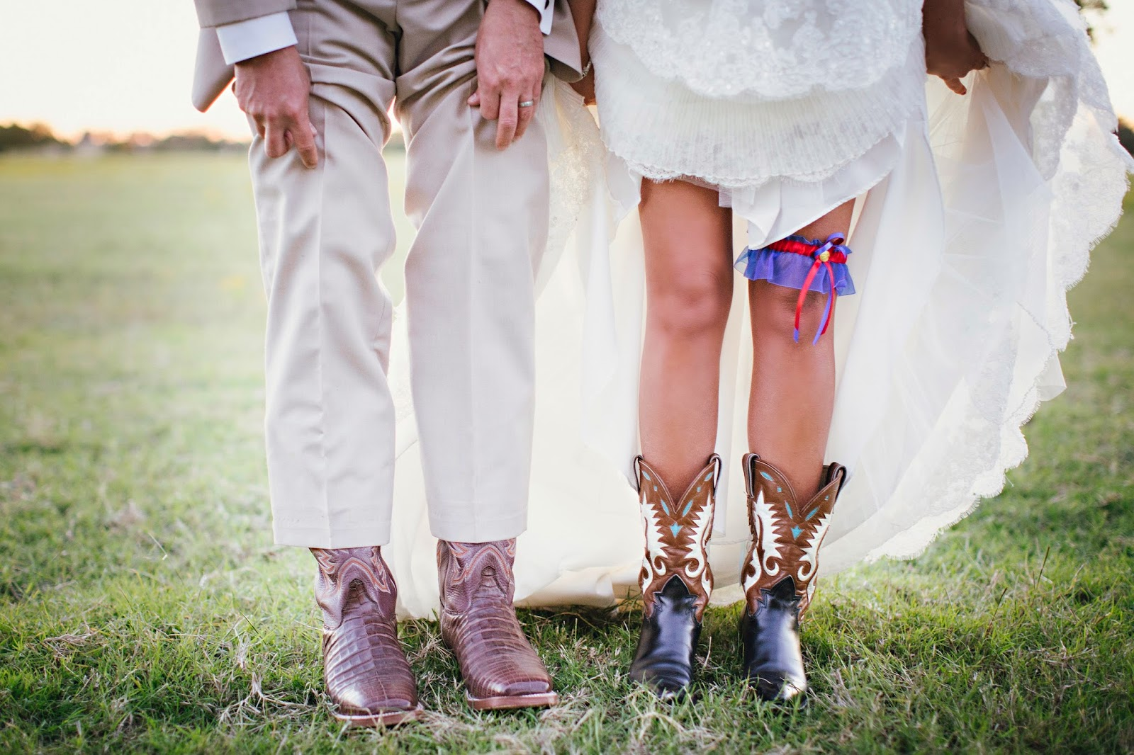 Granddad's Cowboy Boots, Wedding Tradition