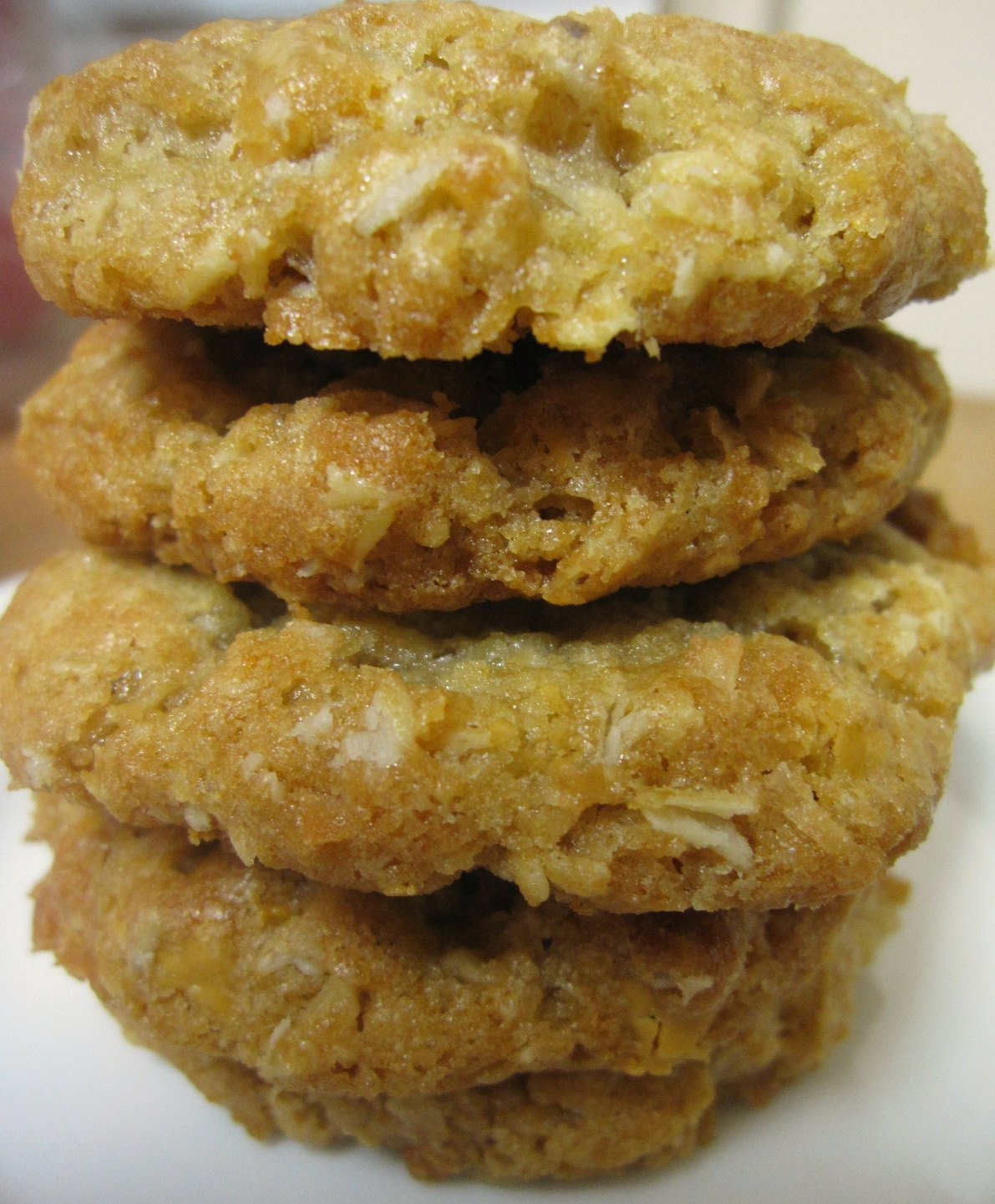 The Scratch Patch: Oatmeal Scotchies with Coconut
