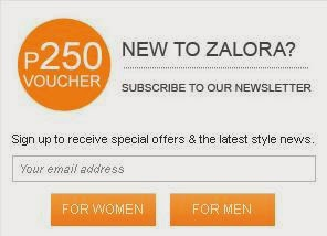 P250 discount from ZALORA: For first-time orders only