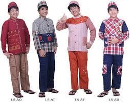 Model Baju Muslim Anak Terbaru 2013