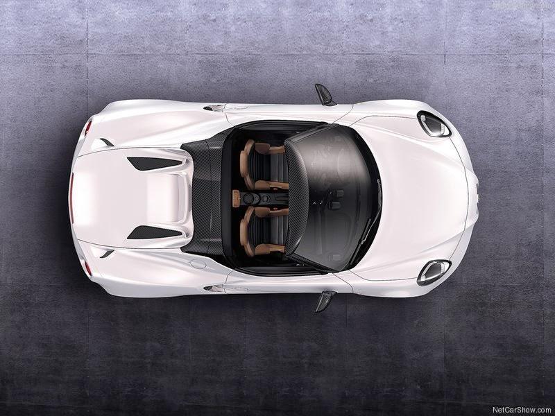 2014 Alfa Romeo 4C Spider Concept