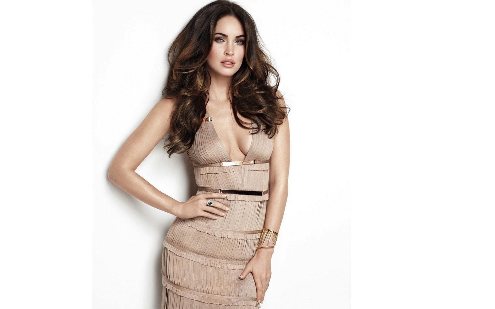 Hot Megan Fox in Beautiful Dress 7