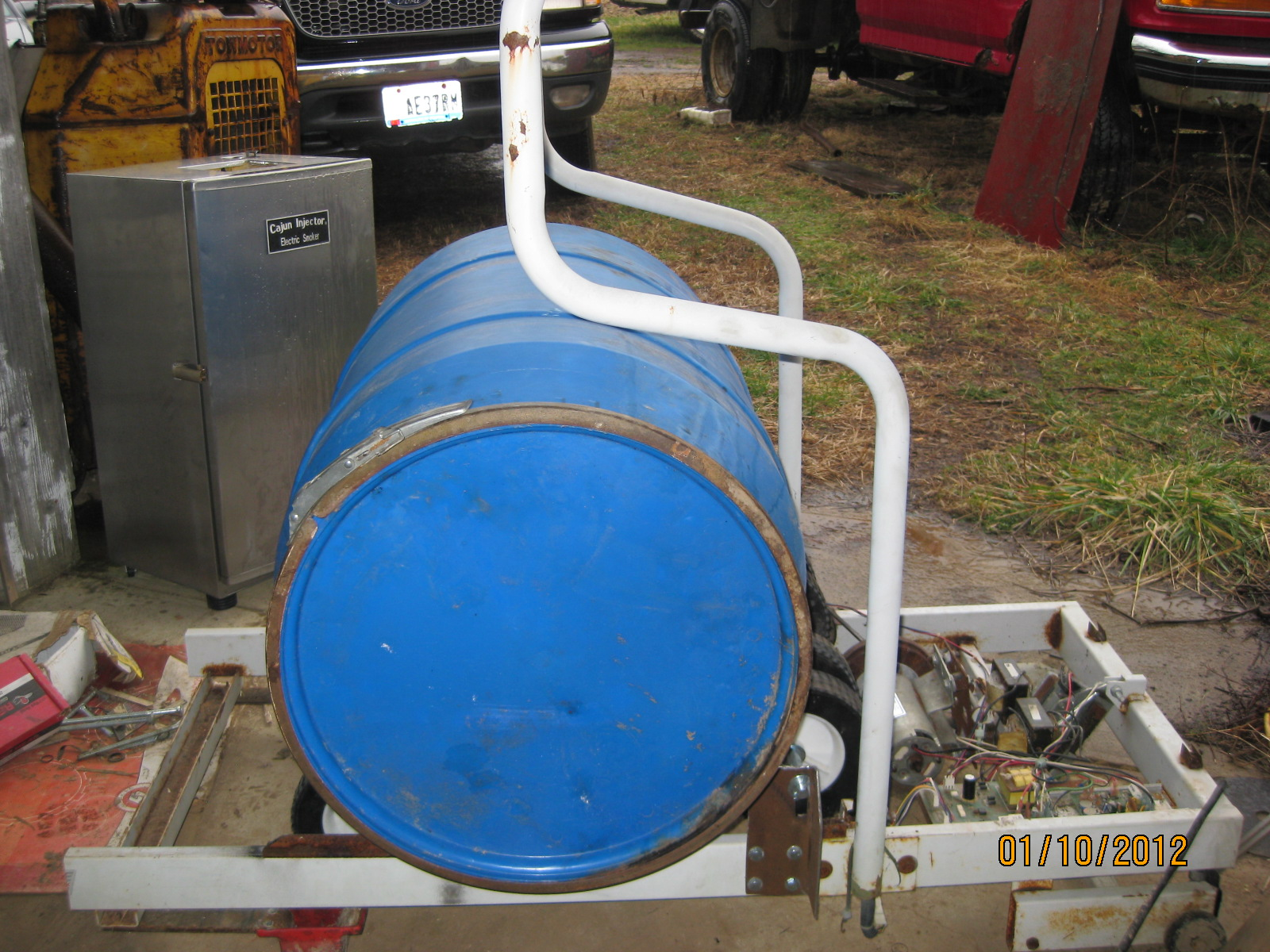 The Pauley Principle: Building a Small Farm Mixer for Poultry Feed