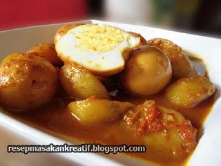 resep semur telur kentang