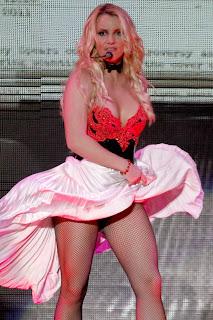 Britney Spears In Fishnets