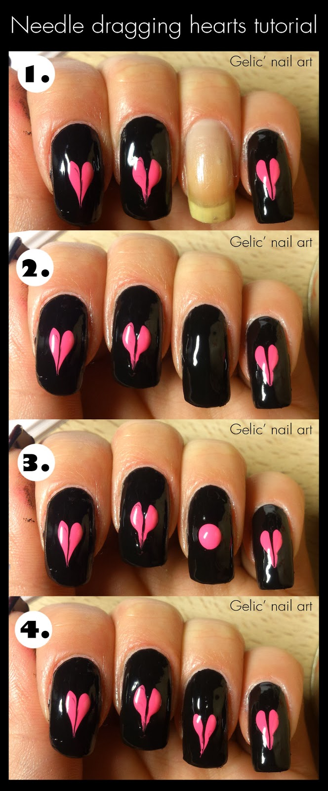 http://gelicnailart.blogspot.se/2014/02/needle-dragging-hearts-tutorial.html