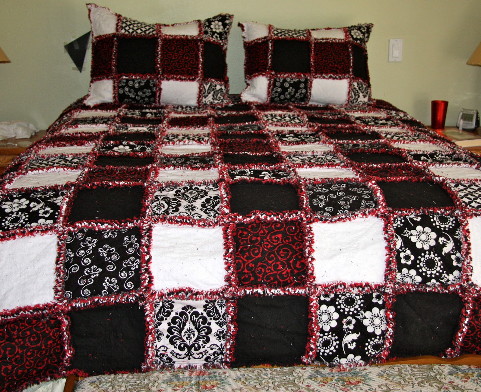 i kept the minky but didnu0027t add the fleece since the quilts were becoming so heavy iu0027ve done a throw size all the way to a king size