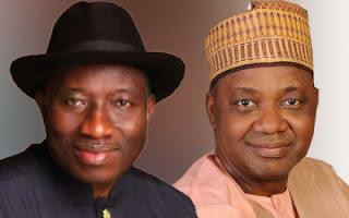 President Goodluck Jonathan and Vice President Namadi Sambo