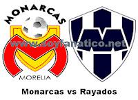 Monarcas de Morelia vs Monterrey 2012