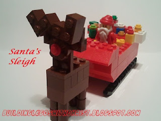 ChristmasChristmas LEGO Creations, Santa Sleigh, LEGO Creations, LEGO Instructions