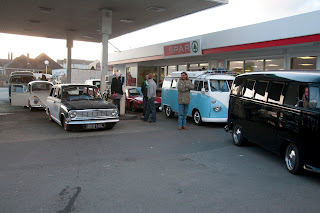 Petrol station for VW's only