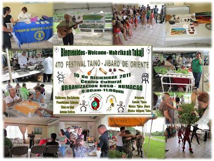 4to  Festival Taíno-Jíbaro  de Oriente