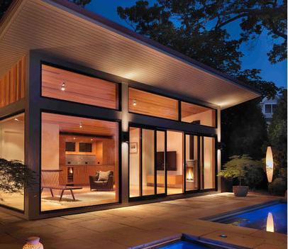 Fotos y dise os de ventanas puertas de aluminio modernas for Imagenes de ventanas de aluminio modernas