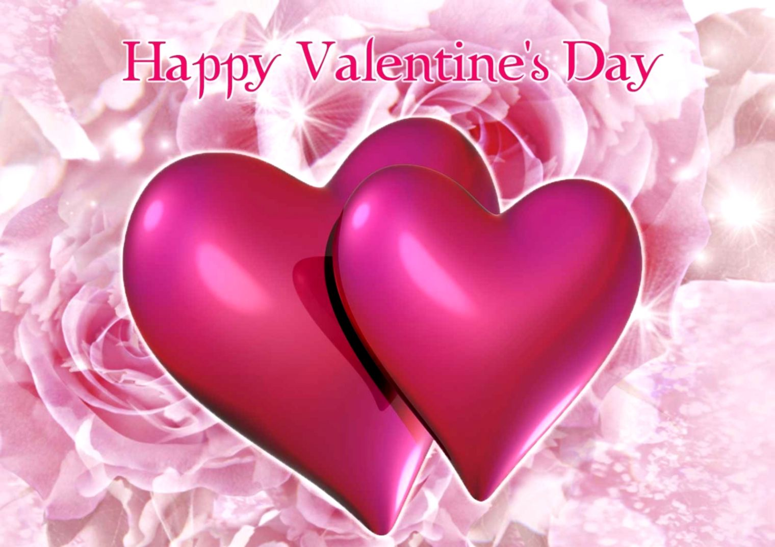 Happy Valentines Day Heart Wallpaper Best Wallpapers Hd Collection