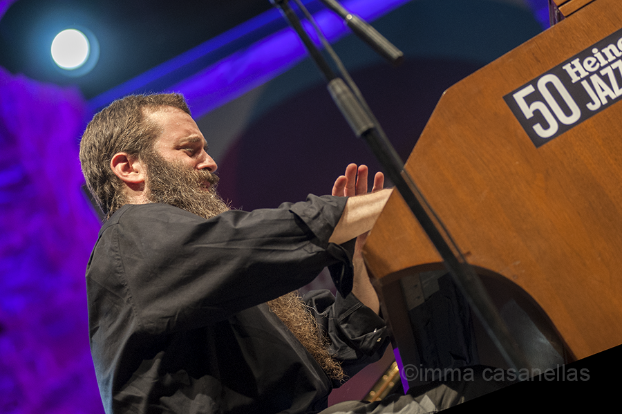 Jamie Saft (The New Standard Trio), Plaza de la Trinidad, Donostia, 25-7-2015