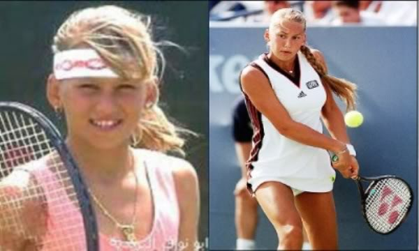 Tennis Players - Then and Now