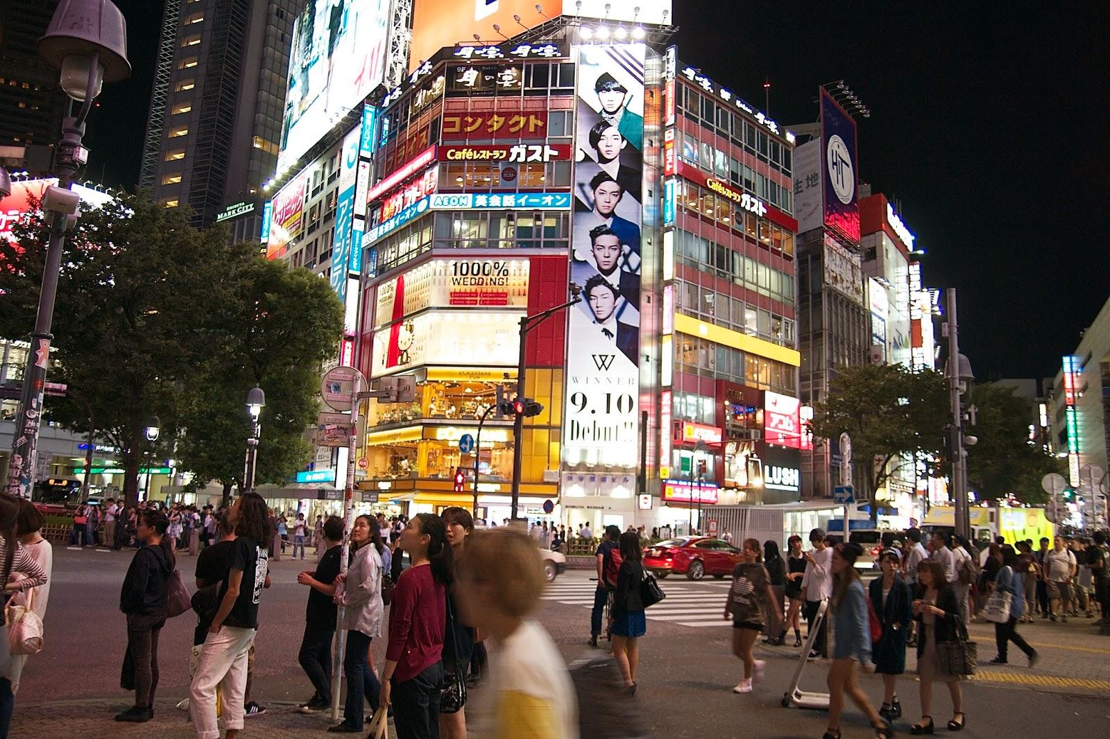 LA RUTA NIPONA: TOKIO (II) - CERCA DE SHIBUYA