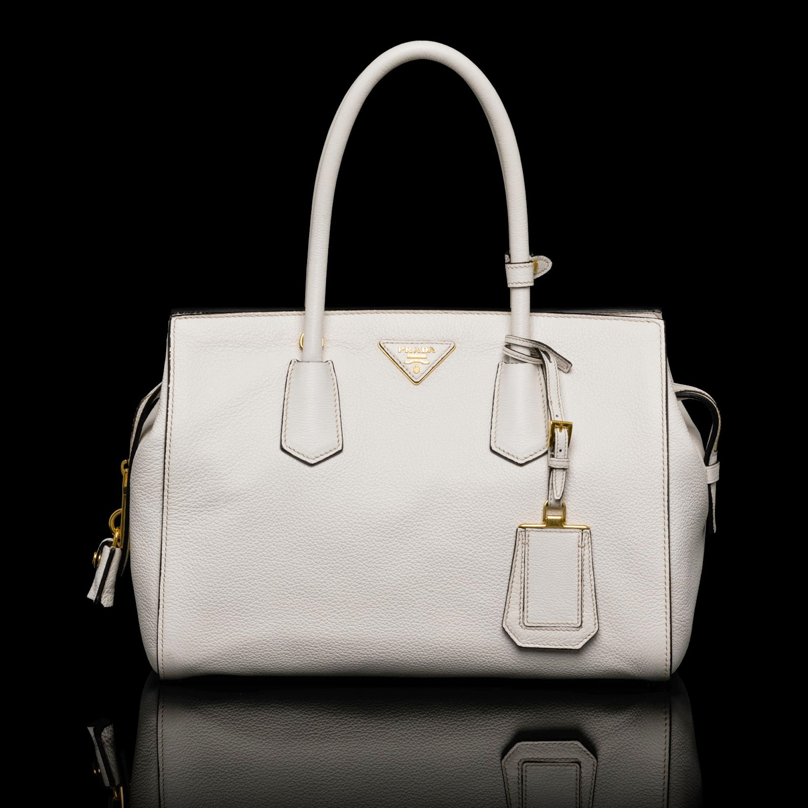 latest prada bag - Neo LUXuries: PRADA Medium Vitello Daino Calf Leather Top-Handle ...