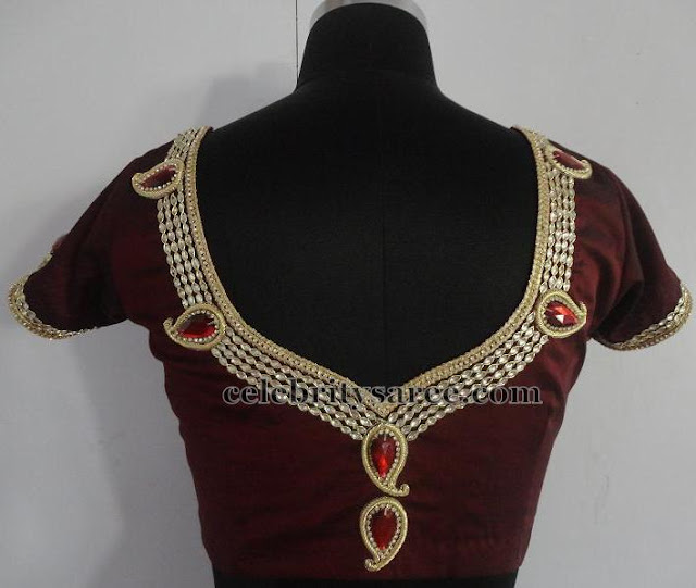Simple Stone Work Blouses