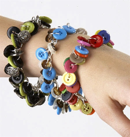 How to recycle bracelet collections made from recycled for Craft using waste bangles