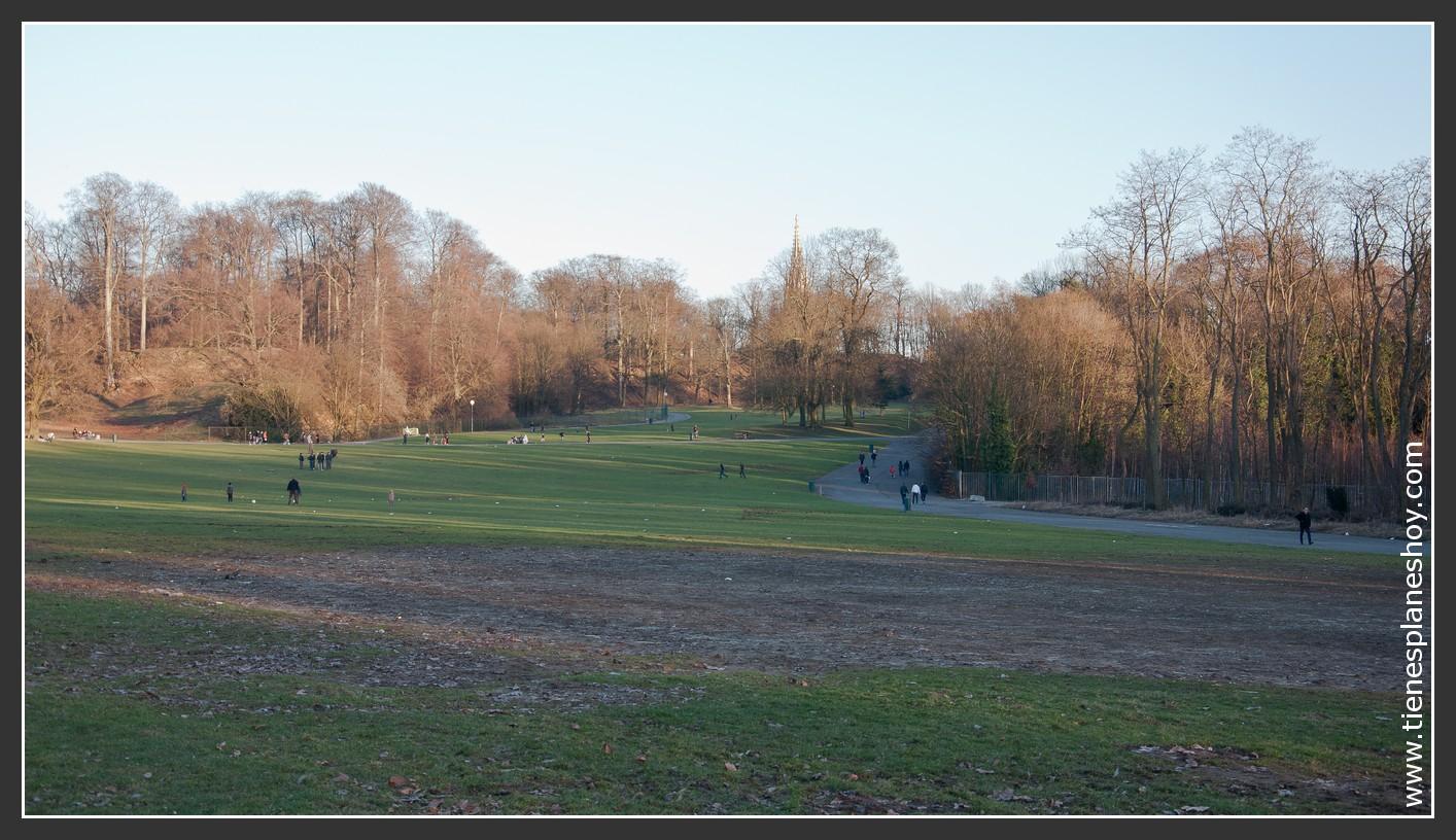 Parque Laeken Bruselas