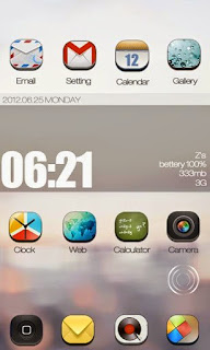 Screenshots of the ZanywayGO Launcher Theme for Android mobile, tablet, and Smartphone.