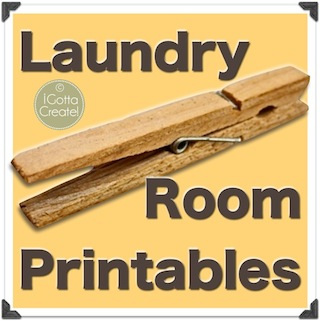 It's just an image of Invaluable Free Vintage Laundry Room Printables