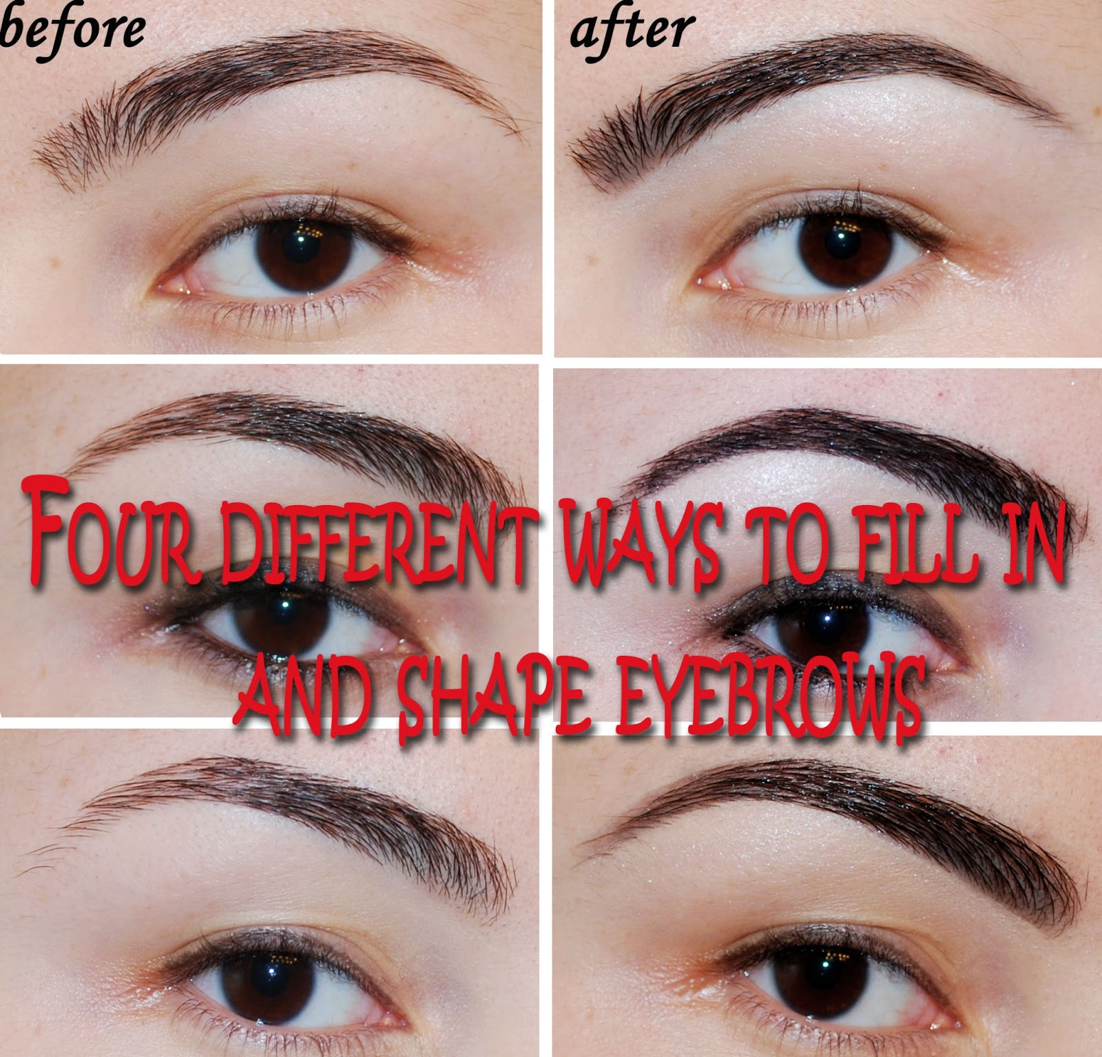 Use A Brow Pencil To Fill In Your Brows Before You Pluck So Don T Overdo It