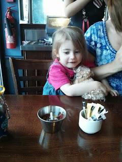 eldest birthday ice cream