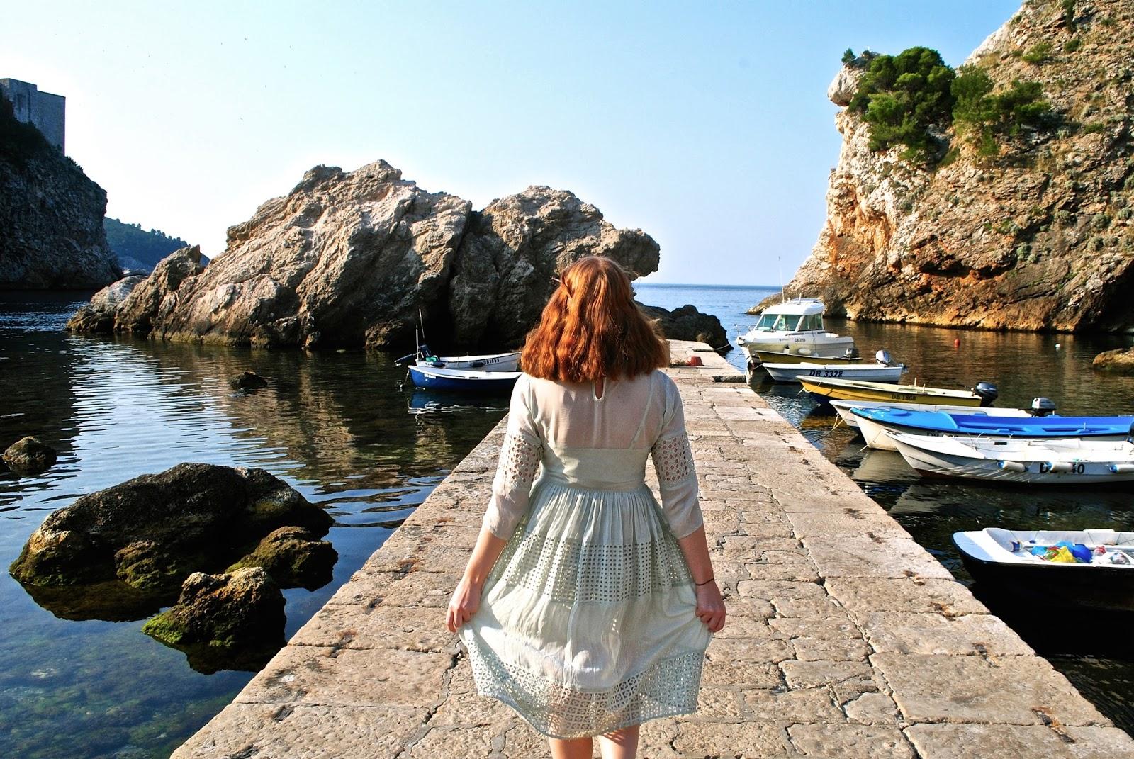 Game of Thrones Filming Location in Dubrovnik - Pier next to Fort Lovrijenac