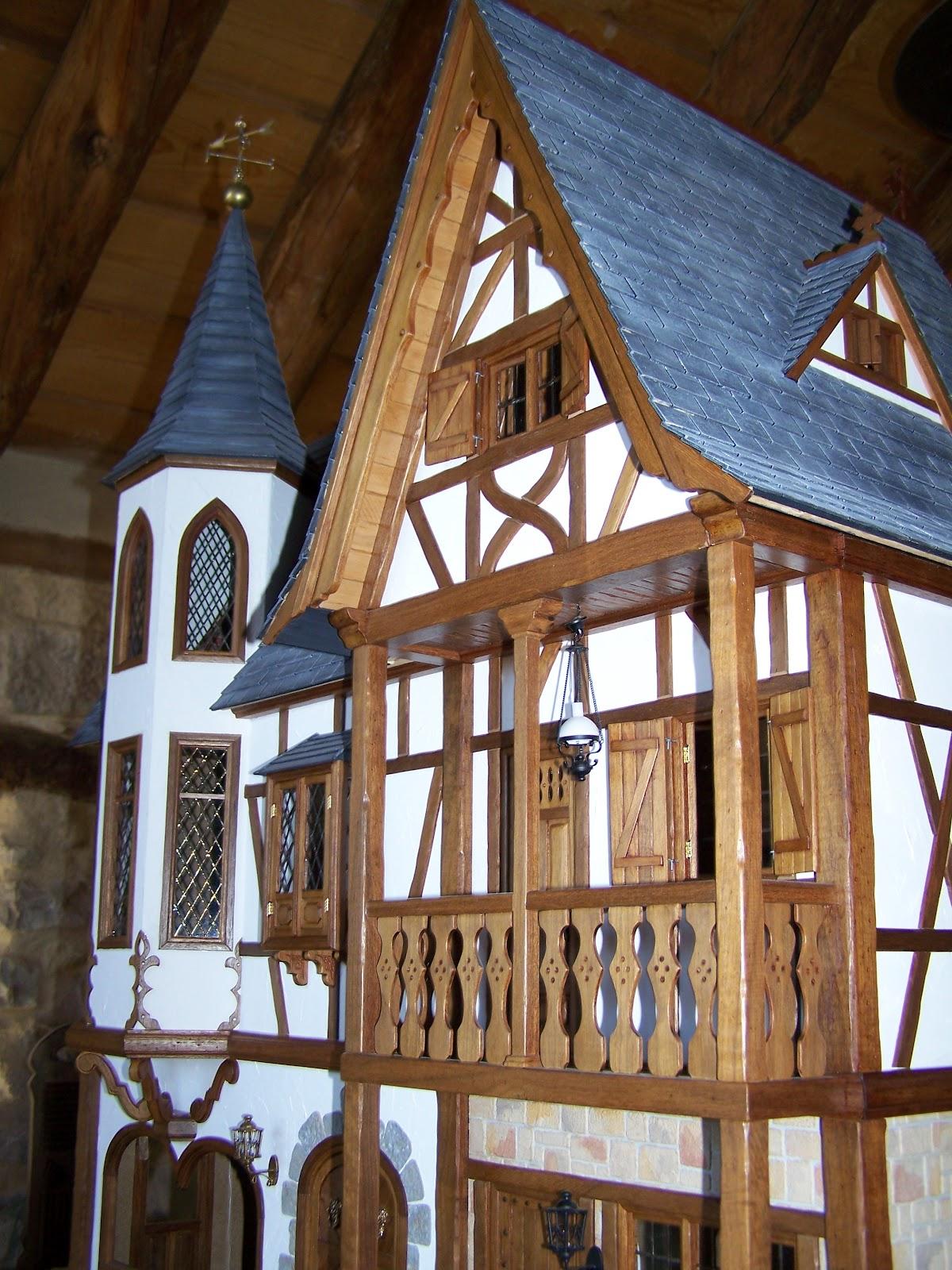 Imagina que hacer casa de mu ecas estilo tudor for Progetti di casa tudor