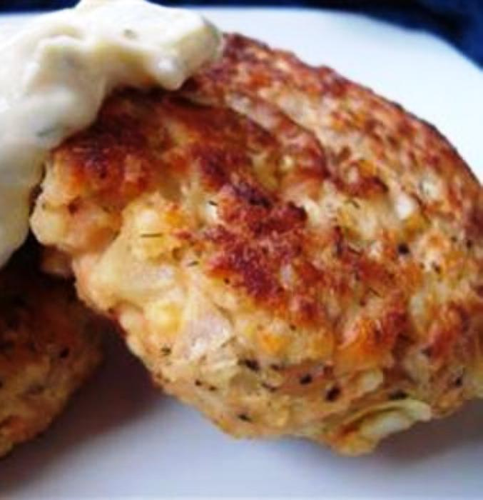 The Bestest Recipes Online: Potato Salmon Patties
