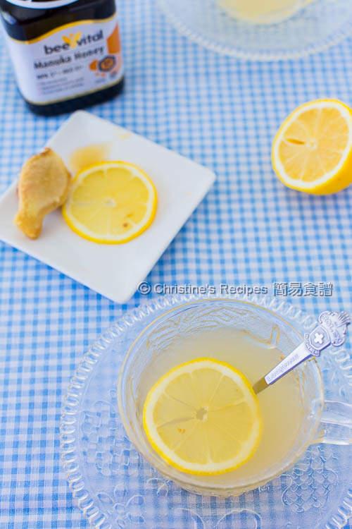 檸蜜薑茶 Lemon Ginger Honey Tea03