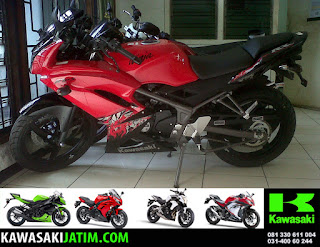 KRR 150RR RED New Stripping