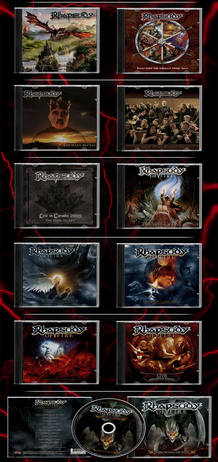 Rhapsody Of Fire l (1995-2016) l Symphonic/Power Metal