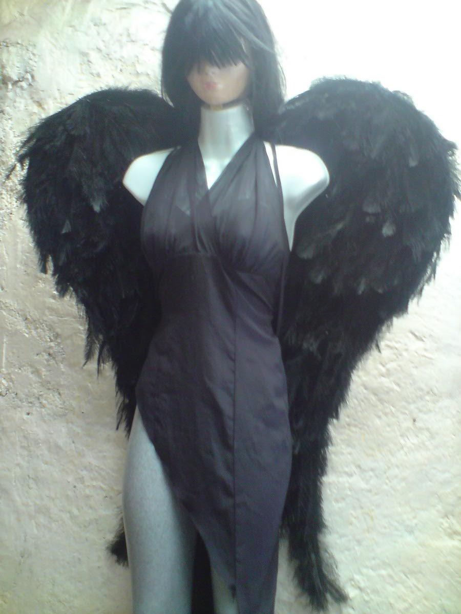 Disfraz casero de angel ca do con patron de las alas - Disfraces de angel para nina ...