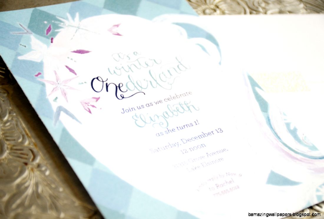 first birthday invitation – Creating For Our Creator