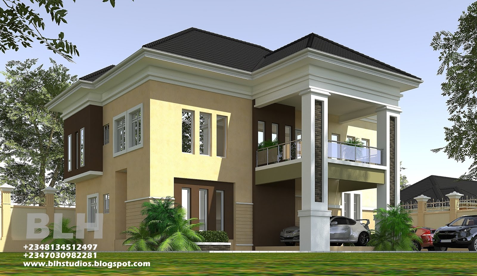 Architectural Designs by Blacklakehouse: 2 bedroom