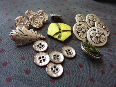 Gorgeous buttons from Textile Garden