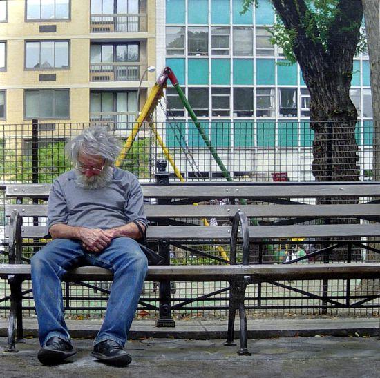 Denis Peterson pinturas hiper-realistas fotografia tristeza miséria O muro Wall Street